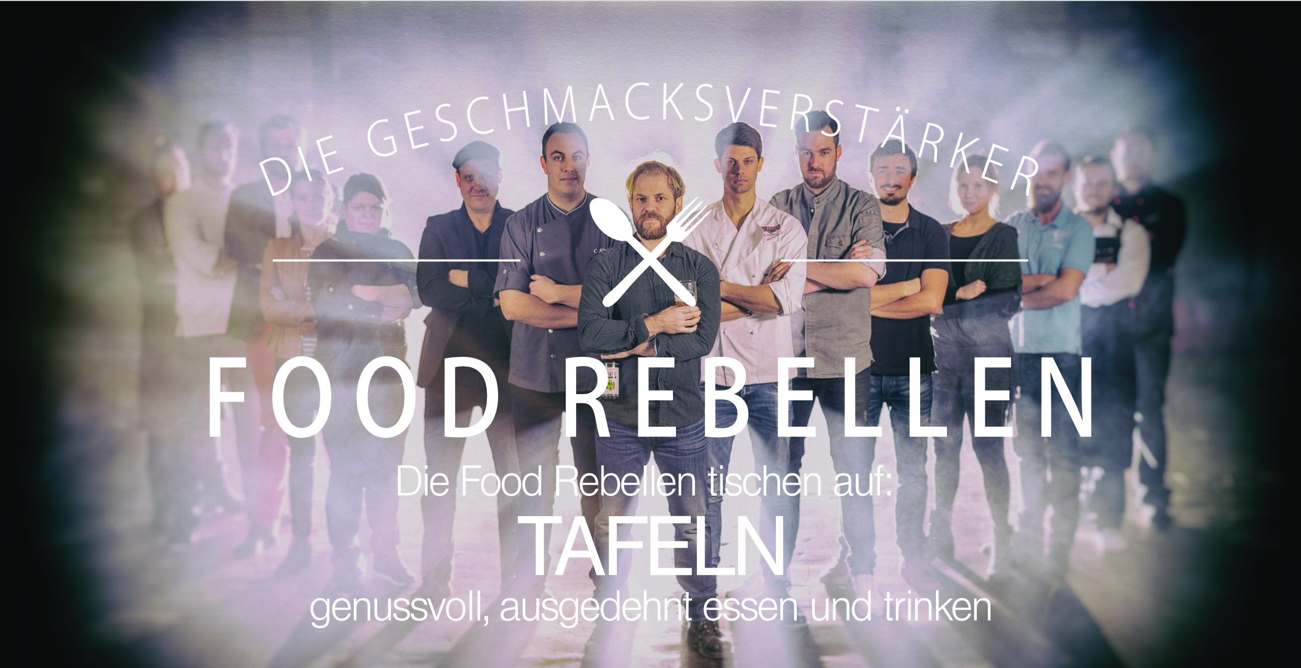 Food Rebellen Flyer